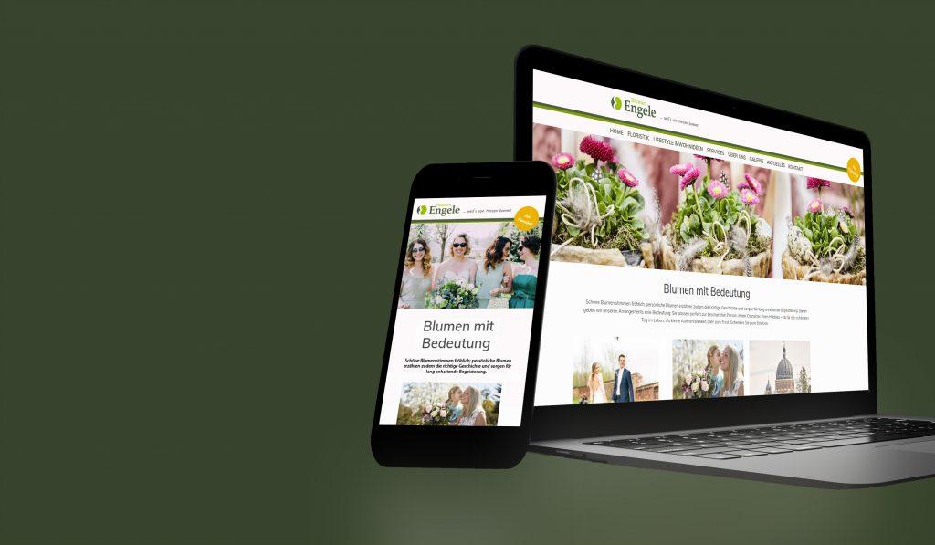 Blumen Engele Website