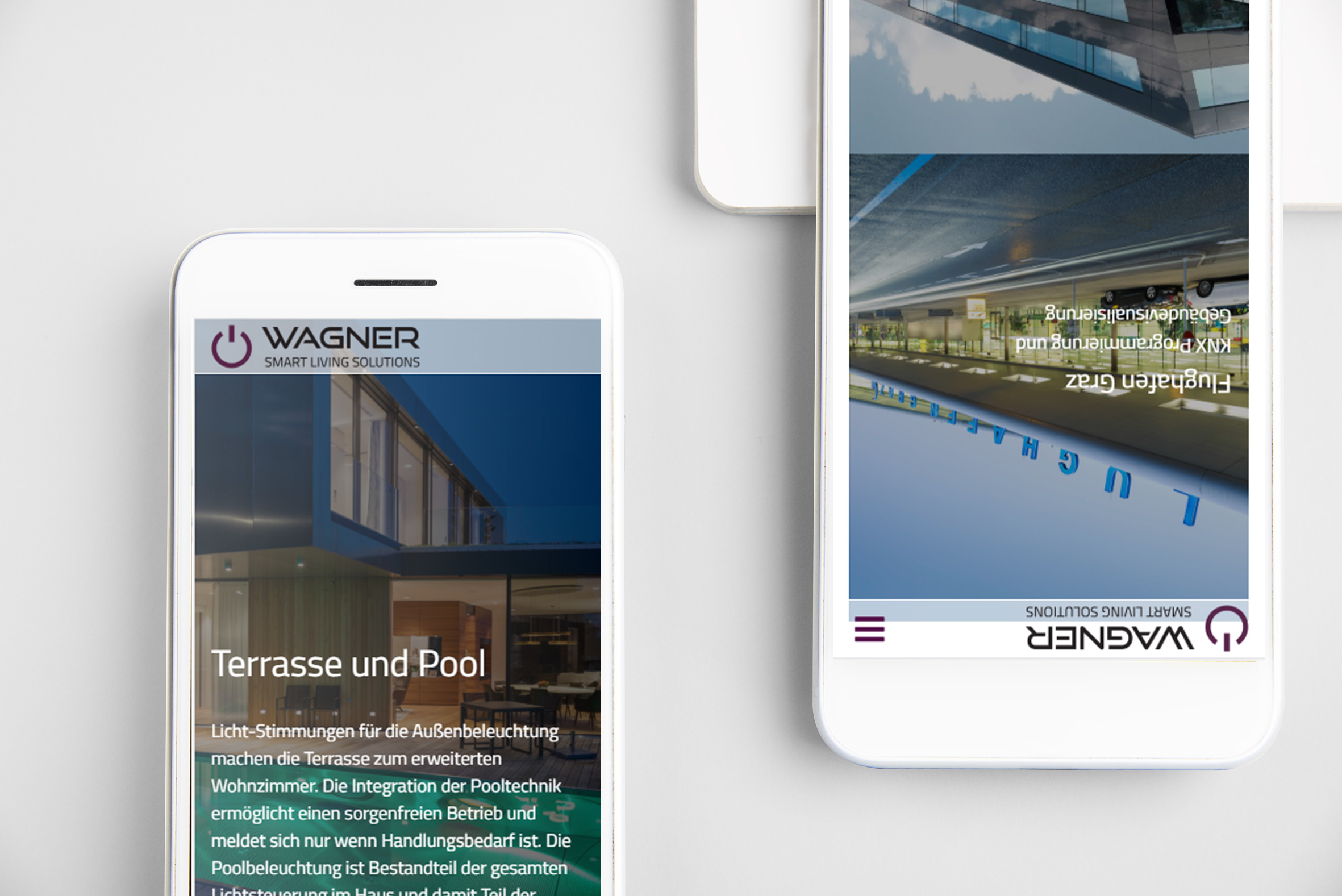 Wagner SLS Website Smartphone
