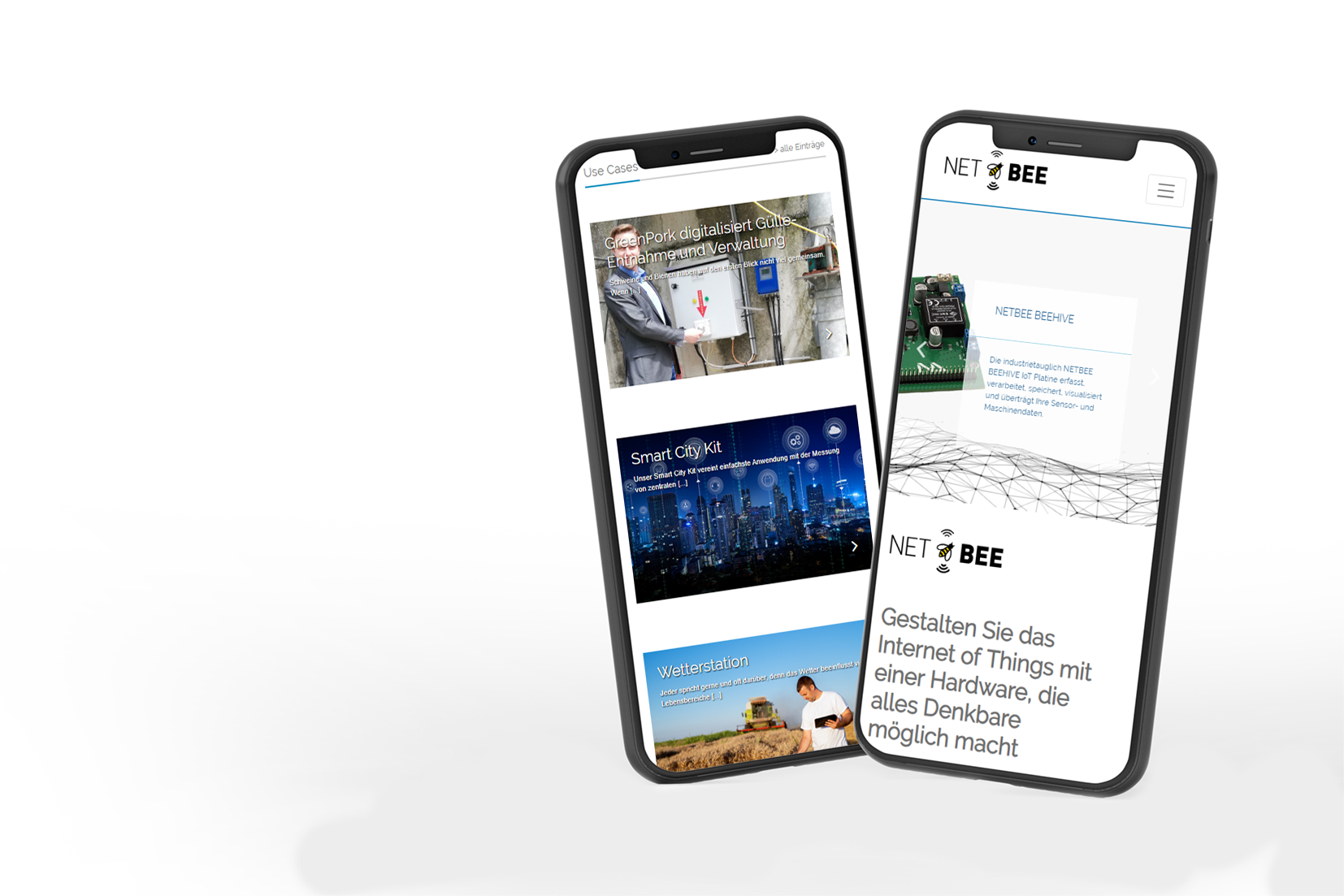 NETBEE Website Smartphone
